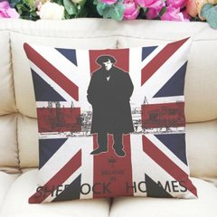 UJ Sherlock Holmes Cushion Cover
