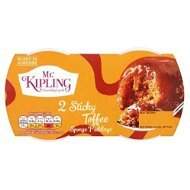 Mr Kipling Sticky Toffee Puddings (2) Out of stock