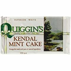Kendal Mint Cake Bars