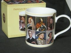 Kings and Queens Mug (with pictures and written descriptions)
