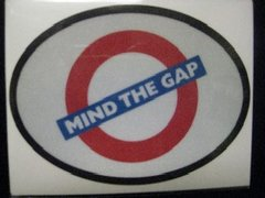Mind The Gap Decal and Bumper Sticker