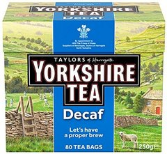 Taylor's Yorkshire Decaf 80 count bags - temp out of stock