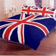 Union Jack Duvet Set (Double) + 2 Pillow Cases
