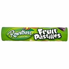 Fruit Pastilles Tubes