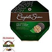 Elizabeth Shaws Dark Chocolate Mint crisps