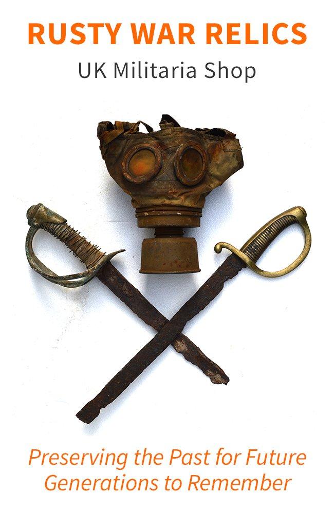 Rusty War Relics - UK Militaria Shop