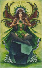 Emerald Fairy Stone Keeper