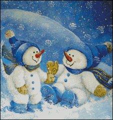 Snowflakes at Play