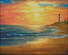 Serene Seashore