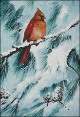 Winter's Glory Red Bird II