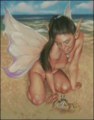 Fairy with Crab