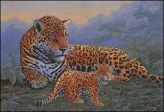 Jaguar and Cub
