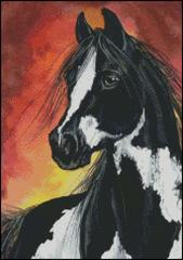 Red Skies Horse