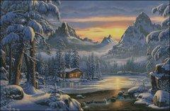 Evening on Mountain Lake
