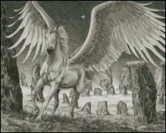 Pegasus at Stonehenge