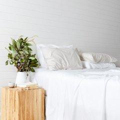 Eucalyptus Sheet Set- White