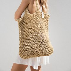 The Beach People Macrame Tote
