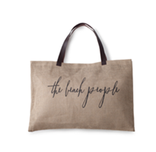 The Beach People- Jute Bag
