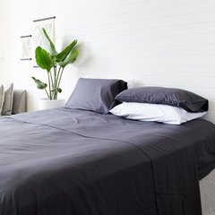 Eucalyptus Sheet Set- Charcoal