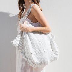 Linen Tote Bag- The Beach People