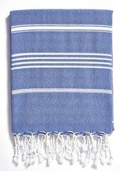 Turkish Beach Towel- Basic Indigo