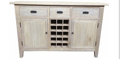 Hampton Oak Sideboard- Grey Washed