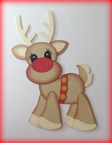Jingle Bells Reindeer Mytearbears
