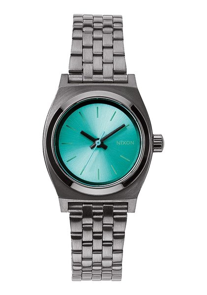 Small Time Teller Gunmetal/Light Blue