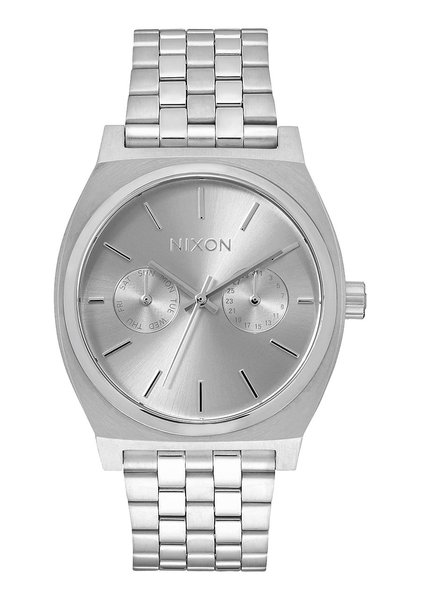 Nixon Time Teller 'All Silver'