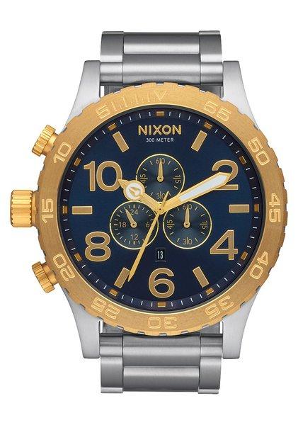 Nixon 51-30 Chrono 'Gold / Blue Sunray'