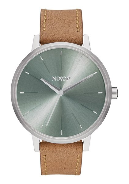 Nixon Kensington Leather 'Saddle / Sage'