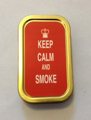 Keep calm and smoke 1oz tin