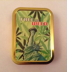 Free the weed 2oz tin