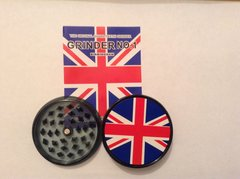 Union jack (black) no1 magnetic grinder