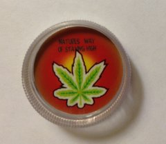 Clear mini grinder. Natures way of staying high