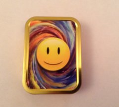 Smiley face 2 / 2 oz tin
