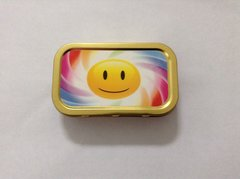 Smiley face 1oz tin