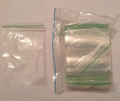 Baggies x 100. 80mm x 120mm