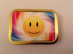 Smiley face 1. 2oz tin