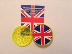 Union Jack ( yellow) no1 magnetic grinder