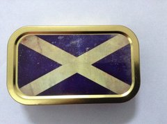 Scottish flag 1oz tin