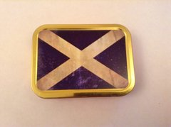Scottish flag 2oz tin