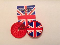 Union jack (red) no1 magnetic grinder
