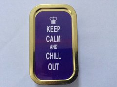 Keep calm and chill out 1oz tin