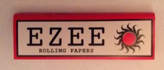 Ezee red regular rolling paper