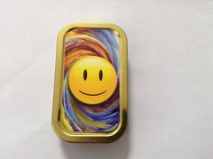 Smiley face 2. 1oz tin