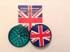Union Jack (green) no1 magnetic grinder