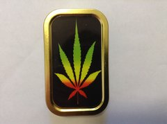 Multi coloured leaf 1oz tin