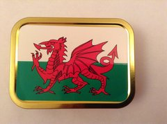 Welsh flag 2oz tin