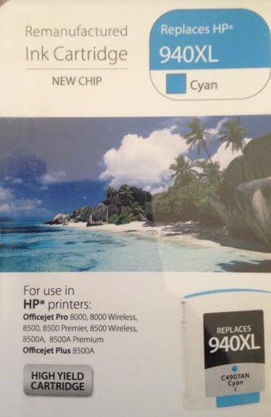 HP 940XL Cyan